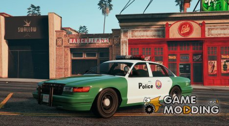 Stanier VCPD Police Interceptor for GTA 5