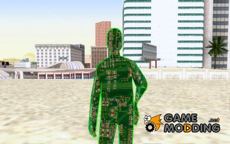 Digital Man для GTA San Andreas
