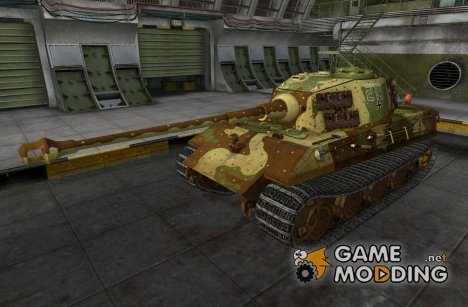 Ремоделинг для Е-75 for World of Tanks