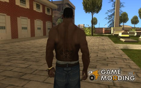 Children of Bodom Tattoo для GTA San Andreas