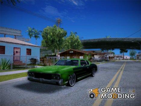 Sabre Drift Green Strips для GTA San Andreas