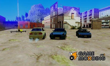 Пак машин адаптированных под АПП и IVF для GTA San Andreas