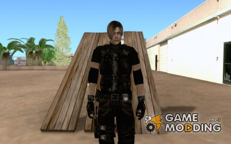 Leon Kennedy HD Armour for GTA San Andreas