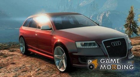 Audi RS6 Avant 2007 для GTA 5