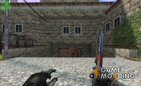 Bad Knife + Russian Glove for Counter-Strike 1.6