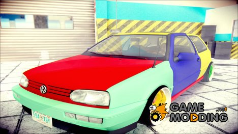 VW Golf MK3 Harlequin Design для GTA San Andreas
