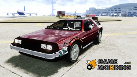 Delorean Back to the Future для GTA 4