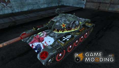Аниме шкурка для Type 59 для World of Tanks
