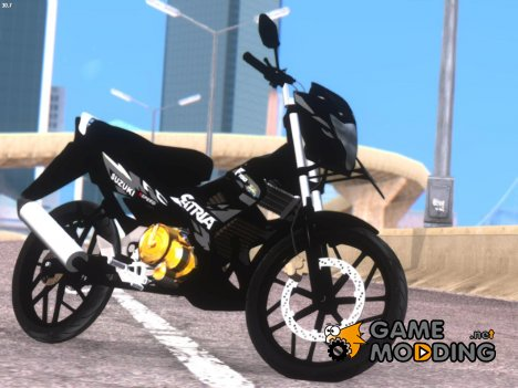 Satria FU Dark Fighter Predator for GTA San Andreas