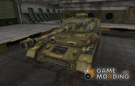 Исторический камуфляж PzKpfw IV hydrostat. для World of Tanks
