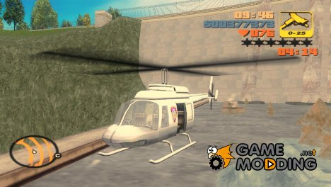 GTA VC Police Maverick for GTA 3