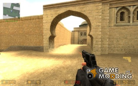 LaserdoT P228 Black for Counter-Strike Source