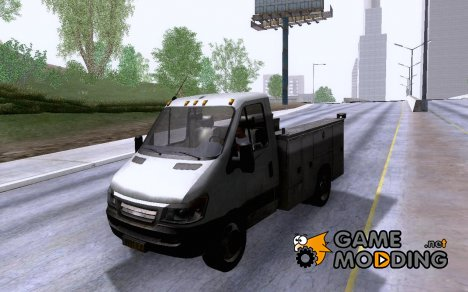 Utility Van from Modern Warfare 3 для GTA San Andreas
