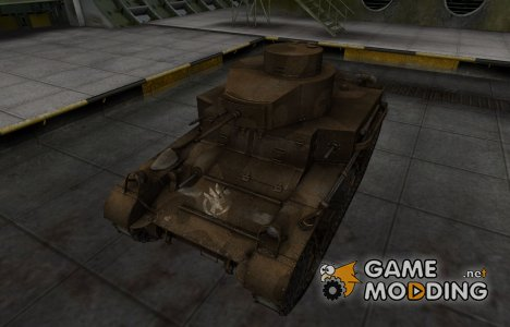 Скин в стиле C&C GDI для M2 Light Tank для World of Tanks