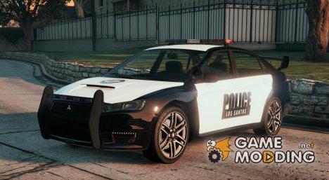 Police Kuruma v1.2 для GTA 5