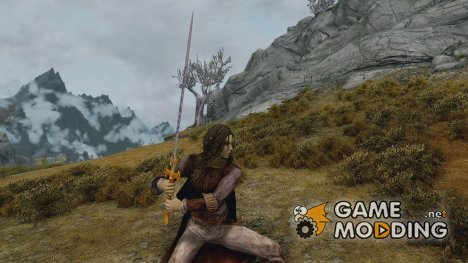 Runed Silver Greatswords для TES V Skyrim