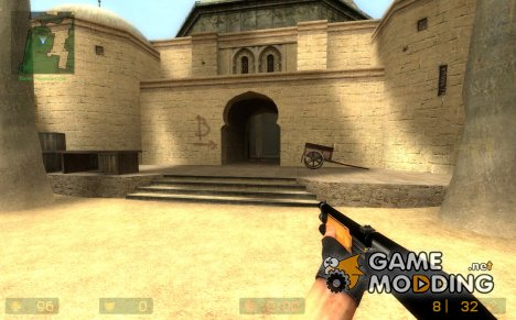Black/Wooden M3 Shotty для Counter-Strike Source
