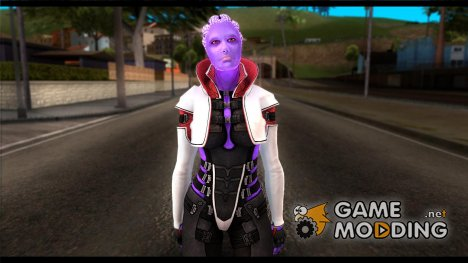 Halia from Mass Effect 2 для GTA San Andreas