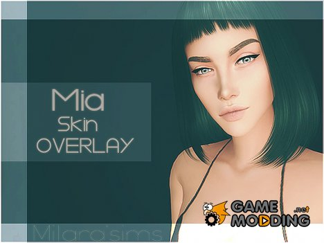 Mia Skin Overlay for Sims 4