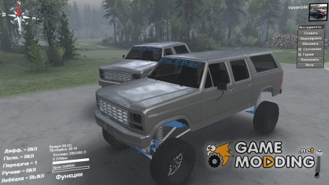 Ford Bronco for Spintires 2014