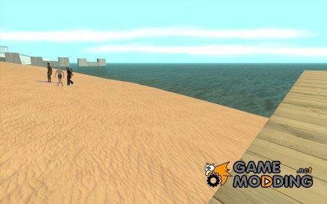 Текстуры района Восточный пляж for GTA San Andreas