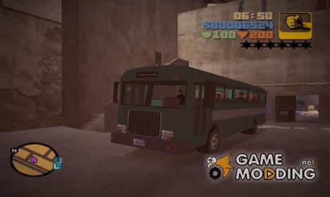 Новый автобус для GTA 3