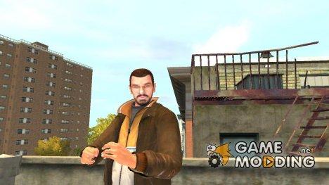 Бородатый Нико for GTA 4