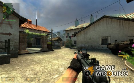 Ampds tatical mp5 V2 для Counter-Strike Source