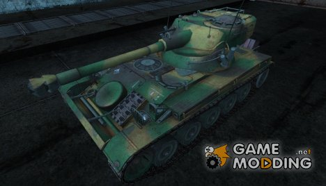 Шкурка для AMX 13 75 №27 for World of Tanks