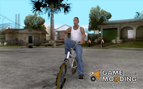 Zero's BMX YELLOW tires для GTA San Andreas