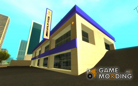 AMG showroom для GTA San Andreas