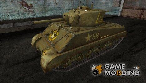 Шкурка для Sherman Jumbo for World of Tanks