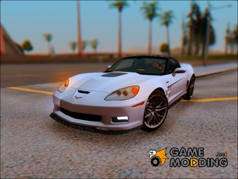 2009 Chevrolet Corvette ZR1 C6 for GTA San Andreas