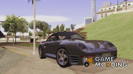 1986 Porsche 959 Black Revel для GTA San Andreas
