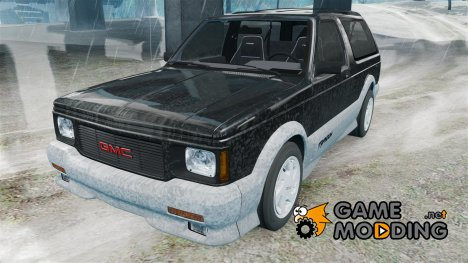 GMC Typhoon 1993 v1.0 for GTA 4