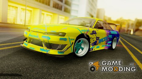 Nissan Silvia S14 kouki Matt Faileds for GTA San Andreas