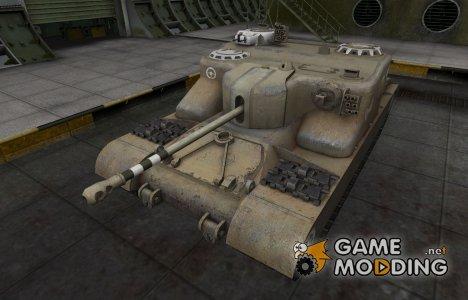 Зоны пробития контурные для AT 15A for World of Tanks