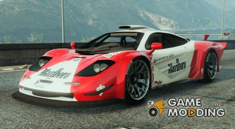 McLaren F1 GTR Longtail 2.0 for GTA 5