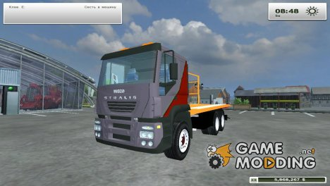 Iveco Stralis 300 evacuator for Farming Simulator 2013
