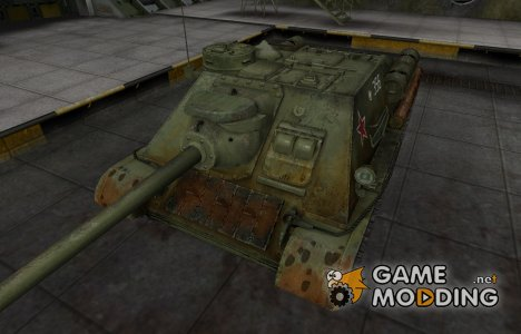 Исторический камуфляж СУ-100 для World of Tanks