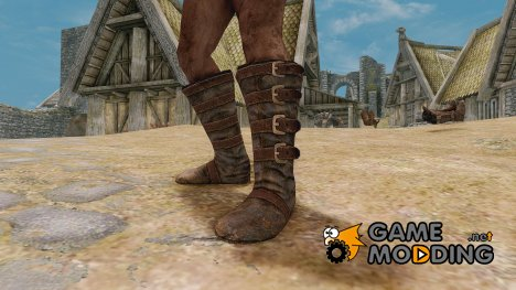Improved Thieves Guild Boots for TES V Skyrim