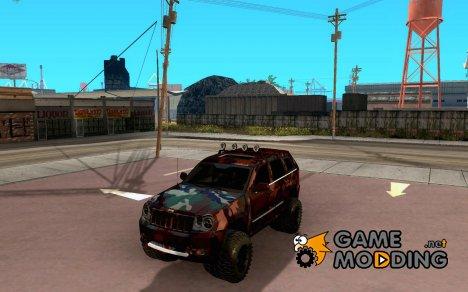 Jeep Grand Cherokee SRT8 Camo for GTA San Andreas