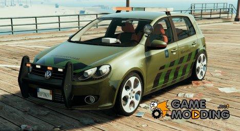 Volkswagen Golf MK6 Rijkswaterstaat 1.0a для GTA 5
