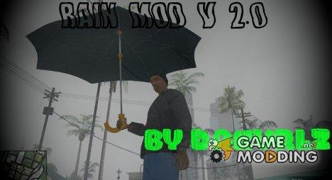 Rain mod v2 for GTA San Andreas