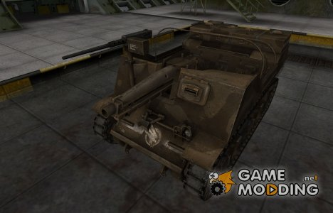 Скин в стиле C&C GDI для T82 for World of Tanks