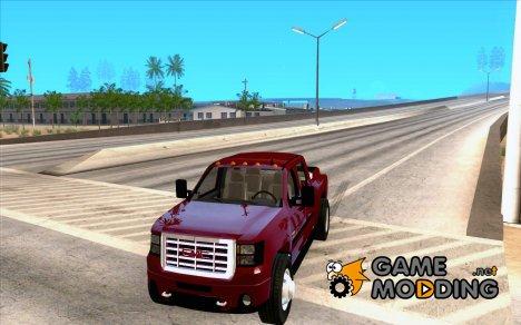 GMC 3500 HD Sierra Duramax Diesel 2010 for GTA San Andreas