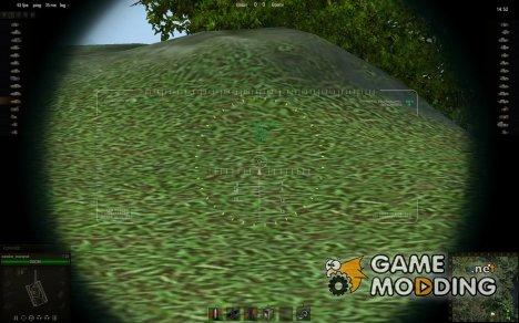 Снайперский прицел от marsoff 6 for World of Tanks