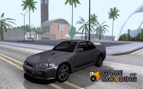 Nissan Skyline GTR R34 for GTA San Andreas