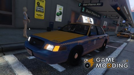 1999 Ford Crown Victoria Taxi for GTA 5