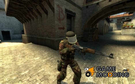 Gign British Camo для Counter-Strike Source